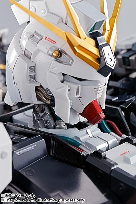Nu Gundam Bust Display (Formania EX / Bandai) X1626