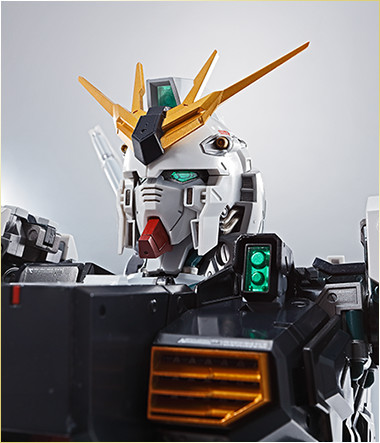 Nu Gundam Bust Display (Formania EX / Bandai) X1822