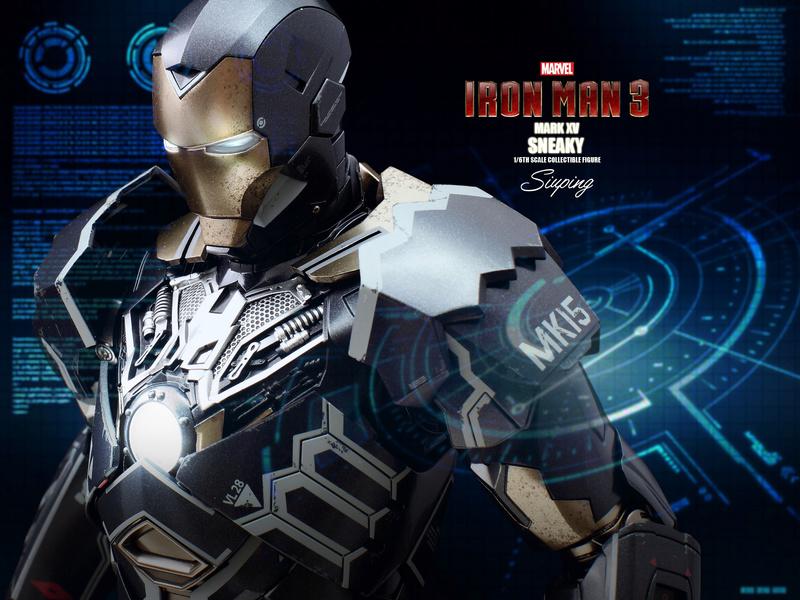 Iron Man 3 (Hot Toys) X1912