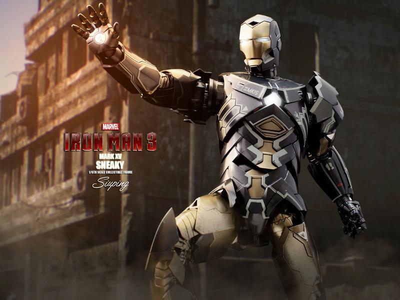 Iron Man 3 (Hot Toys) X2114