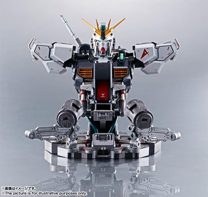 Nu Gundam Bust Display (Formania EX / Bandai) X232