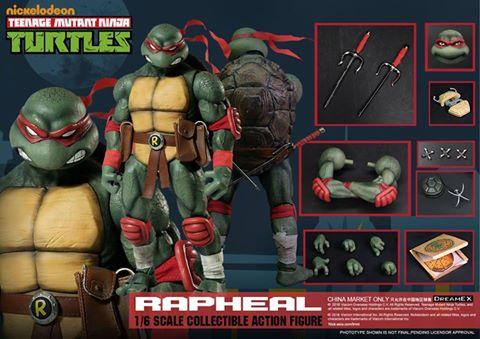 Teenage Mutant Ninja Turtles 1/6 - Tortues Ninja (DreamEX) X3020