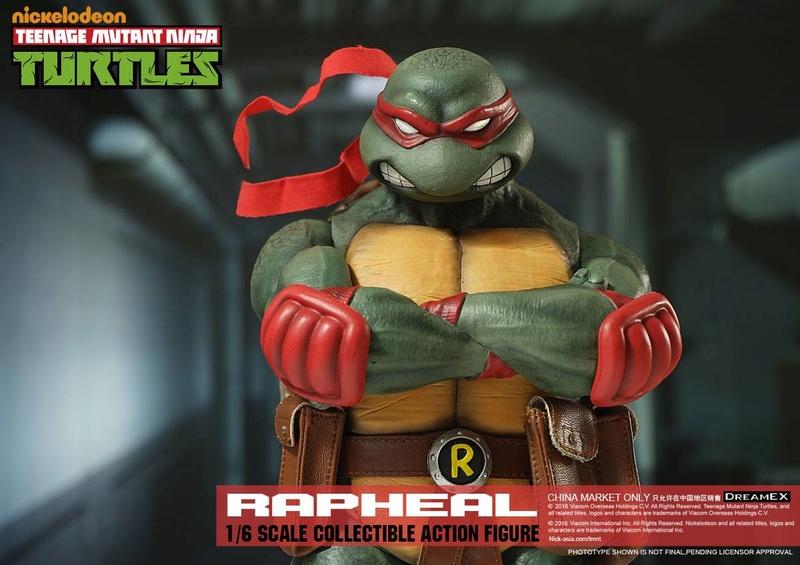 Teenage Mutant Ninja Turtles 1/6 - Tortues Ninja (DreamEX) X3119