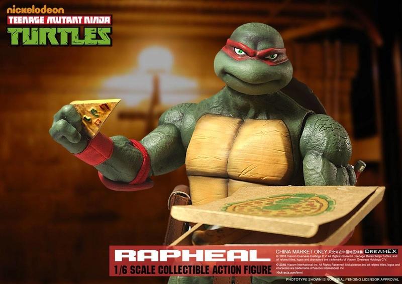 Teenage Mutant Ninja Turtles 1/6 - Tortues Ninja (DreamEX) X3218