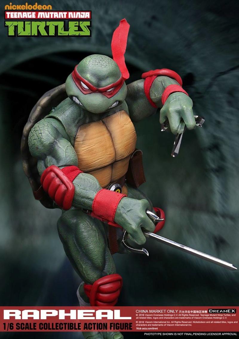 Teenage Mutant Ninja Turtles 1/6 - Tortues Ninja (DreamEX) X3317
