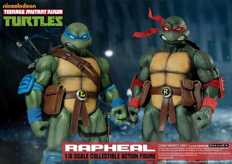 Teenage Mutant Ninja Turtles 1/6 - Tortues Ninja (DreamEX) X3417