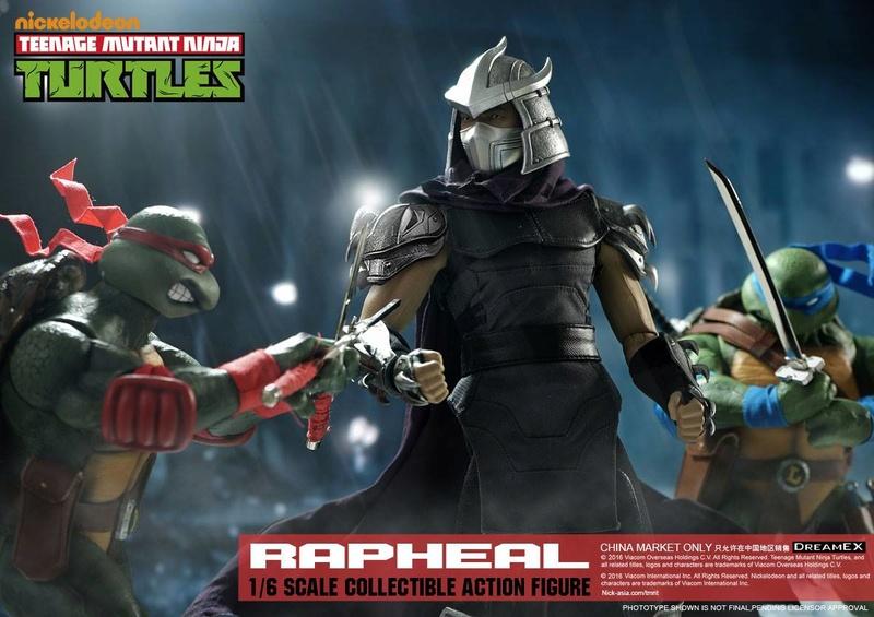 Teenage Mutant Ninja Turtles 1/6 - Tortues Ninja (DreamEX) X3517