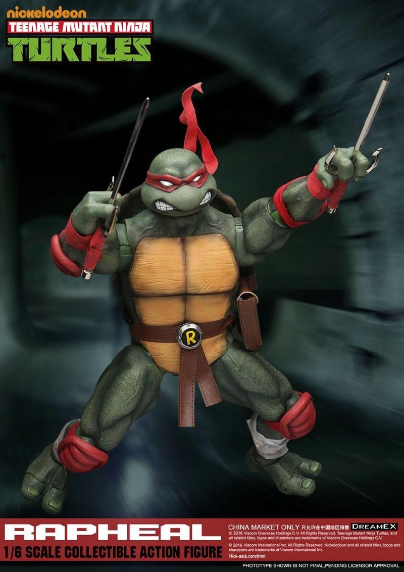 Teenage Mutant Ninja Turtles 1/6 - Tortues Ninja (DreamEX) X3615