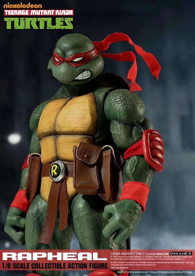 Teenage Mutant Ninja Turtles 1/6 - Tortues Ninja (DreamEX) X3715