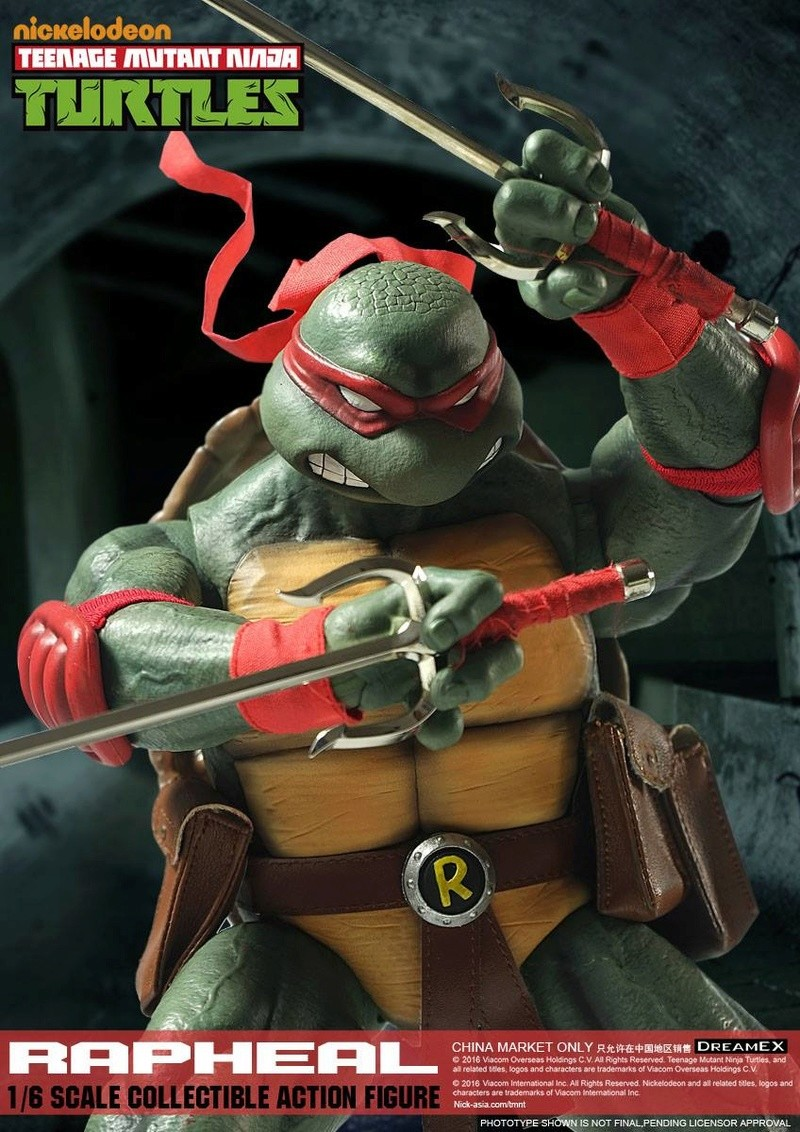 Teenage Mutant Ninja Turtles 1/6 - Tortues Ninja (DreamEX) X3815