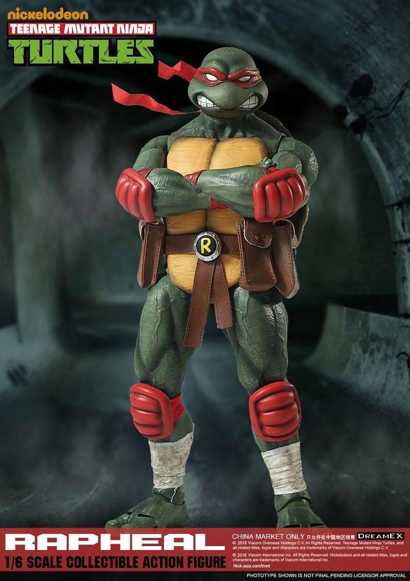 Teenage Mutant Ninja Turtles 1/6 - Tortues Ninja (DreamEX) X3914