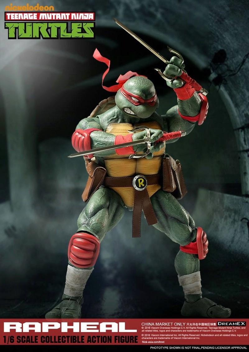 Teenage Mutant Ninja Turtles 1/6 - Tortues Ninja (DreamEX) X4018
