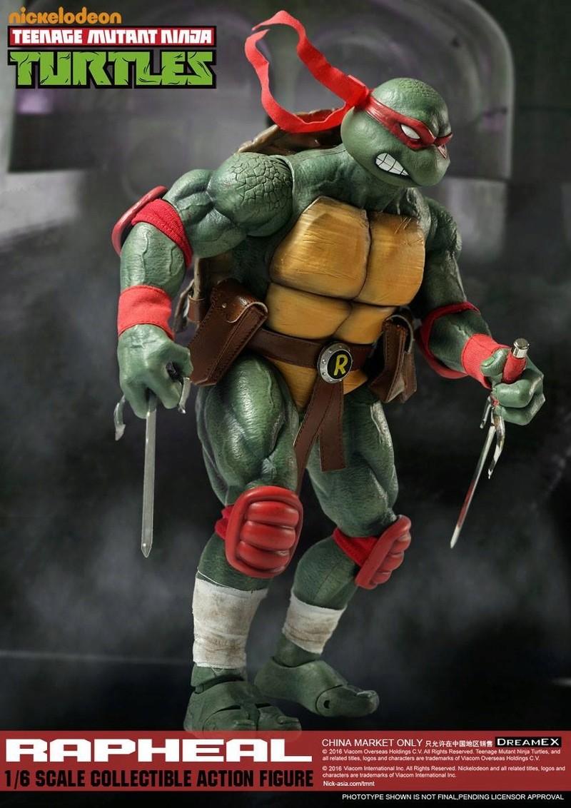 Teenage Mutant Ninja Turtles 1/6 - Tortues Ninja (DreamEX) X4118