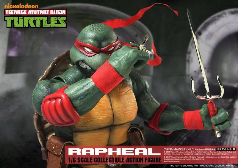Teenage Mutant Ninja Turtles 1/6 - Tortues Ninja (DreamEX) X4217