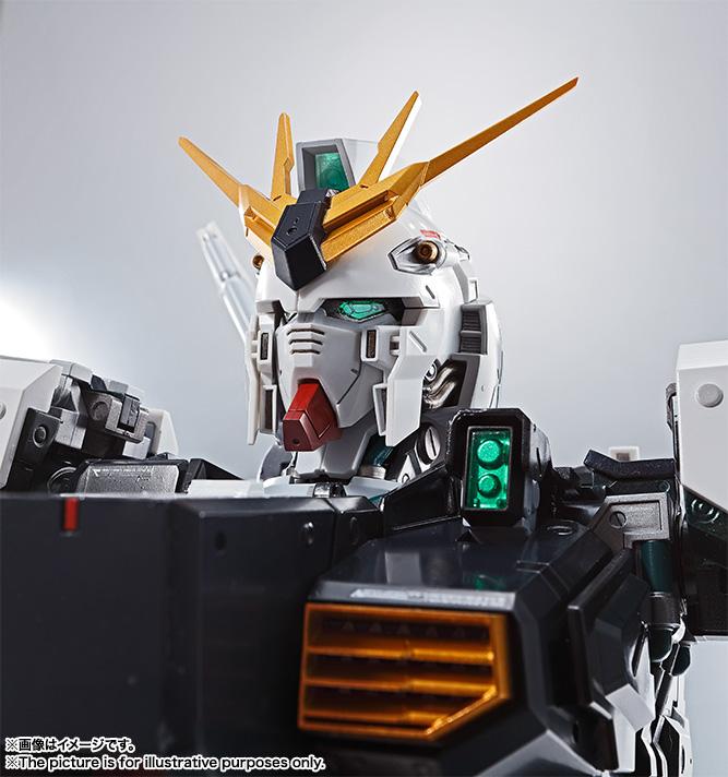Nu Gundam Bust Display (Formania EX / Bandai) X431