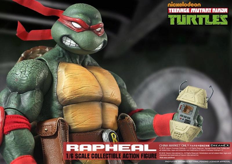 Teenage Mutant Ninja Turtles 1/6 - Tortues Ninja (DreamEX) X4317