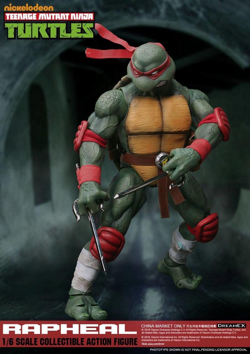 Teenage Mutant Ninja Turtles 1/6 - Tortues Ninja (DreamEX) X4417