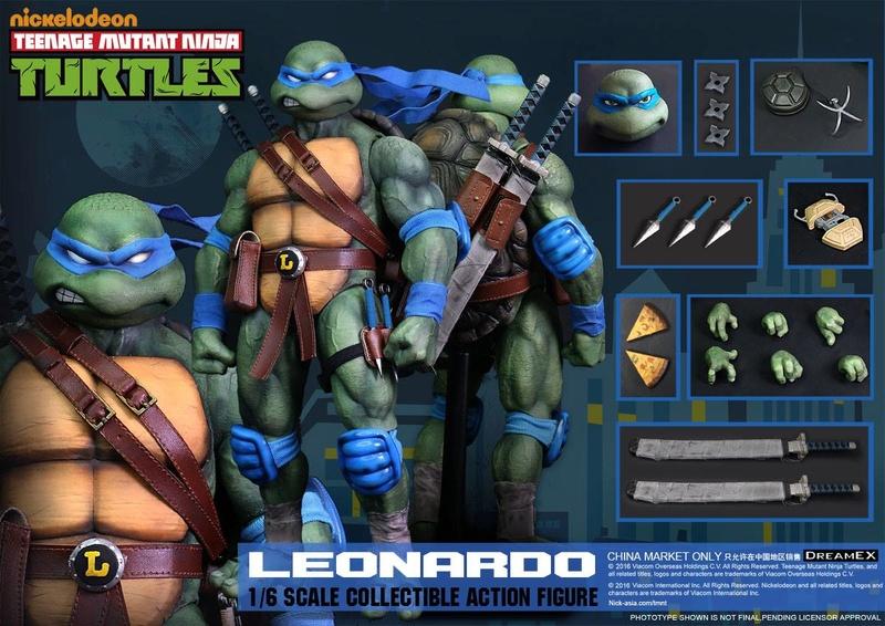 Teenage Mutant Ninja Turtles 1/6 - Tortues Ninja (DreamEX) X5016