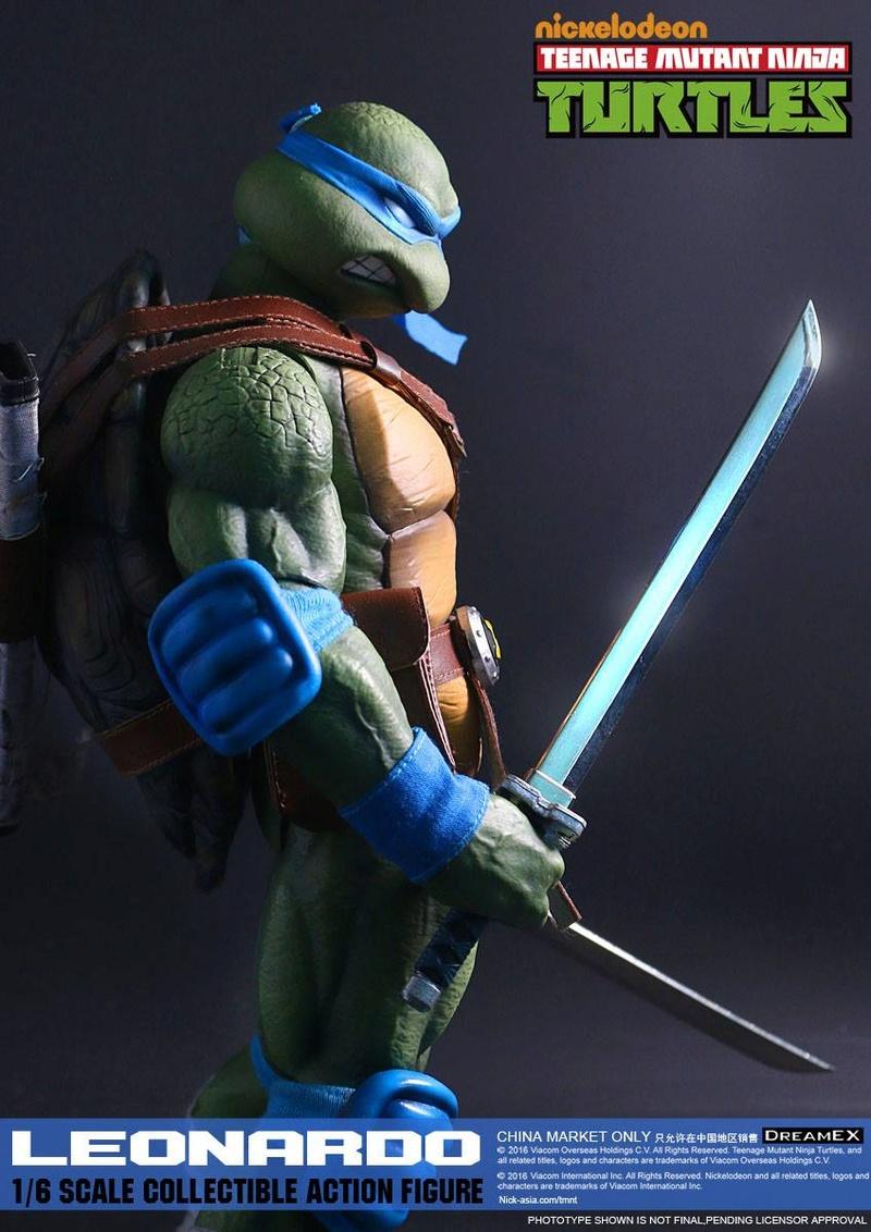 Teenage Mutant Ninja Turtles 1/6 - Tortues Ninja (DreamEX) X5116