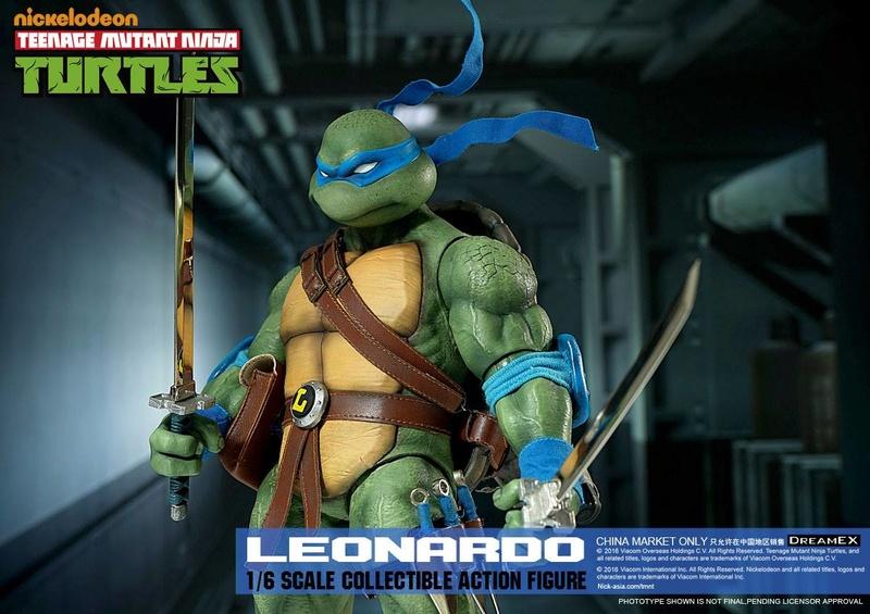 Teenage Mutant Ninja Turtles 1/6 - Tortues Ninja (DreamEX) X5216