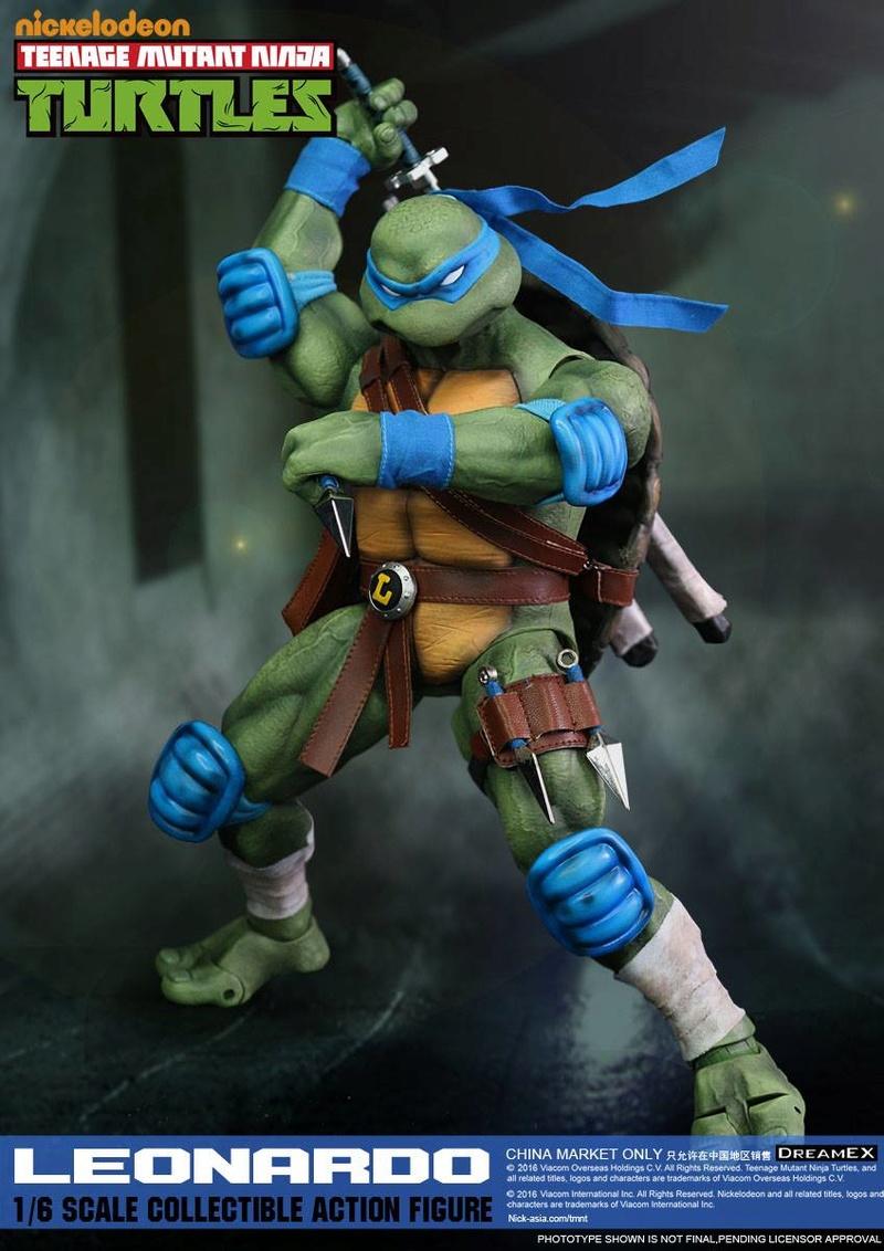 Teenage Mutant Ninja Turtles 1/6 - Tortues Ninja (DreamEX) X5316