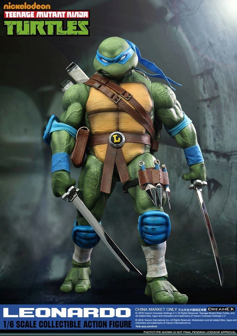 Teenage Mutant Ninja Turtles 1/6 - Tortues Ninja (DreamEX) X5415