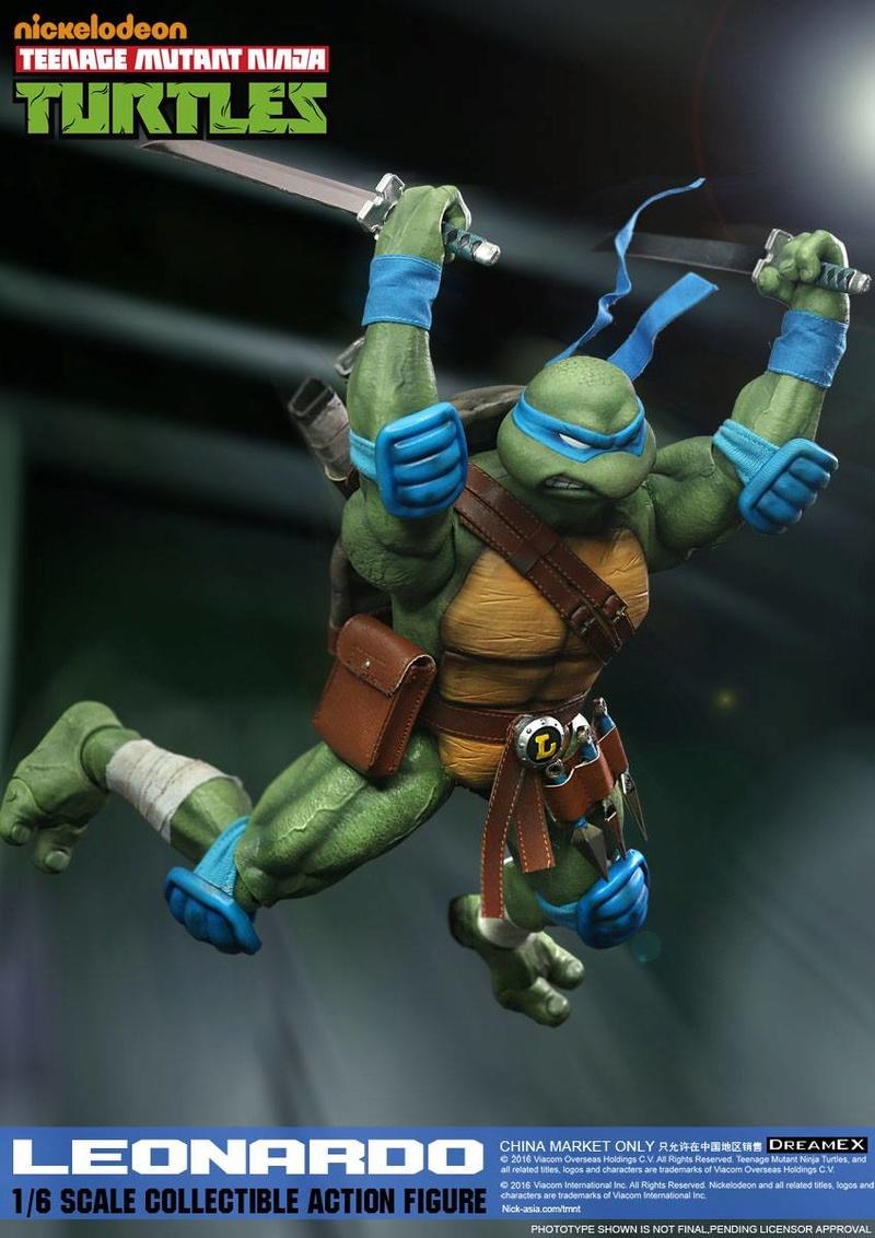 Teenage Mutant Ninja Turtles 1/6 - Tortues Ninja (DreamEX) X5514