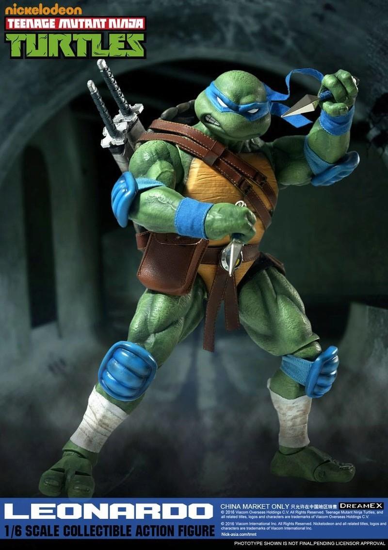 Teenage Mutant Ninja Turtles 1/6 - Tortues Ninja (DreamEX) X5614