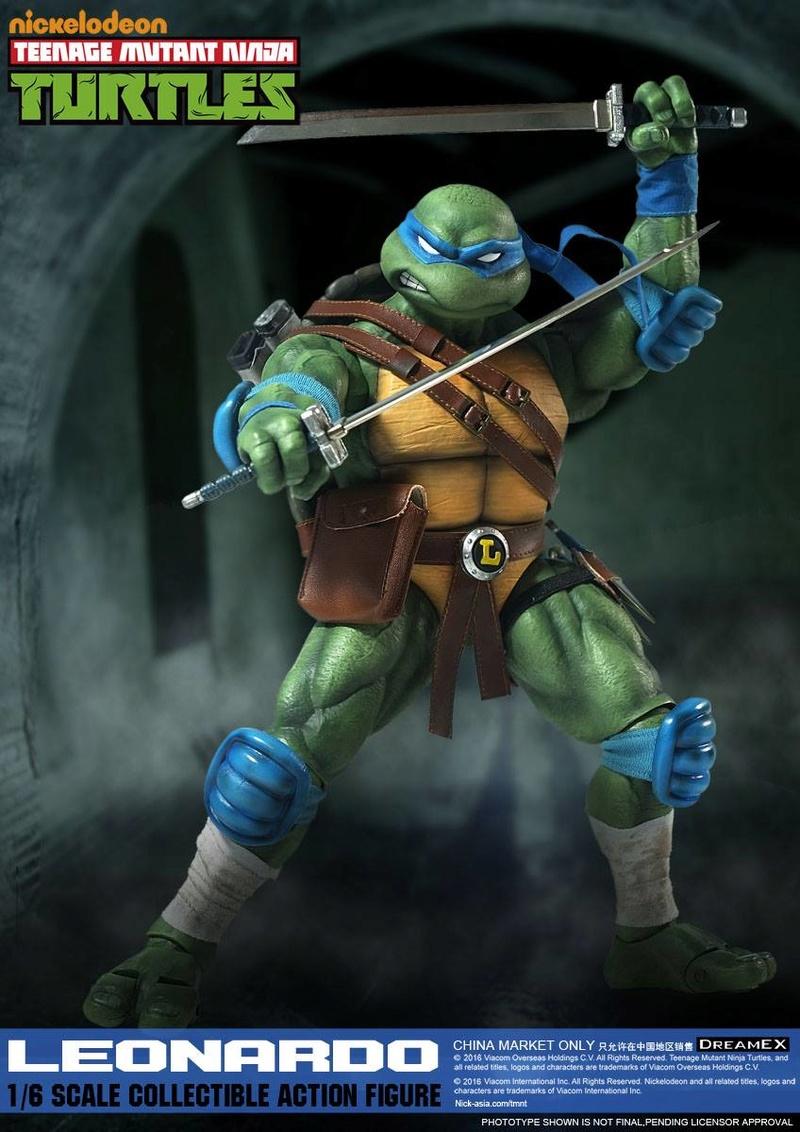 Teenage Mutant Ninja Turtles 1/6 - Tortues Ninja (DreamEX) X5714