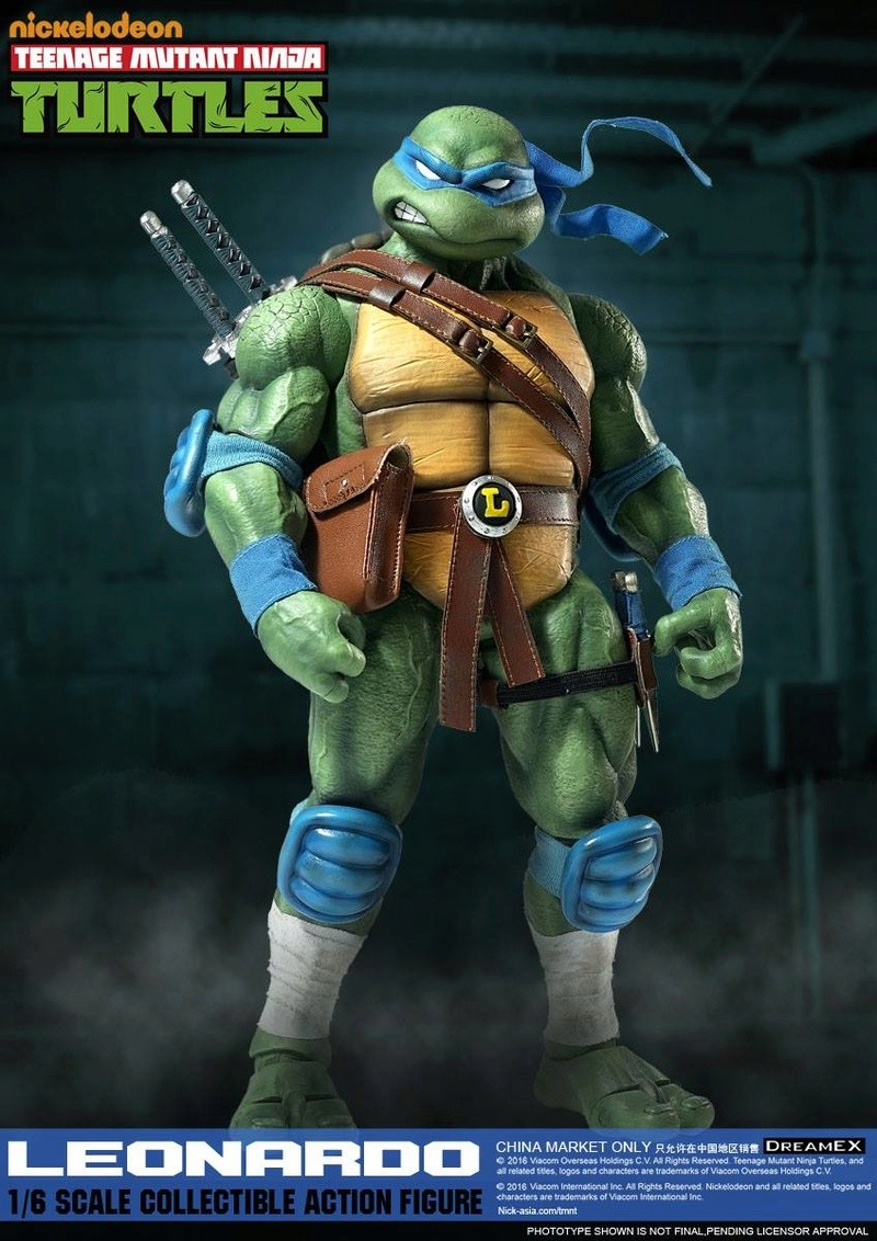 Teenage Mutant Ninja Turtles 1/6 - Tortues Ninja (DreamEX) X5814