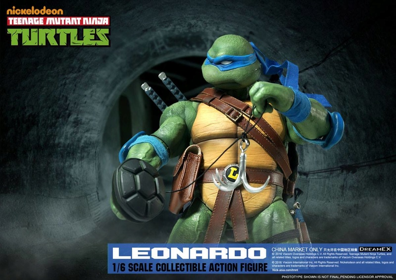 Teenage Mutant Ninja Turtles 1/6 - Tortues Ninja (DreamEX) X5914
