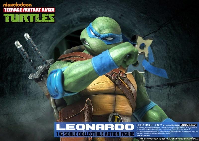 Teenage Mutant Ninja Turtles 1/6 - Tortues Ninja (DreamEX) X6014