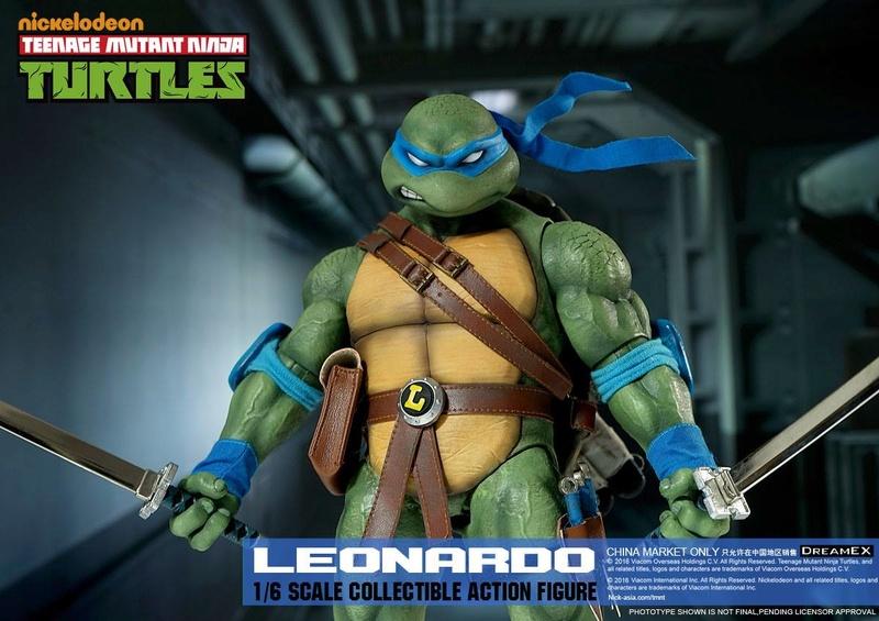 Teenage Mutant Ninja Turtles 1/6 - Tortues Ninja (DreamEX) X6113