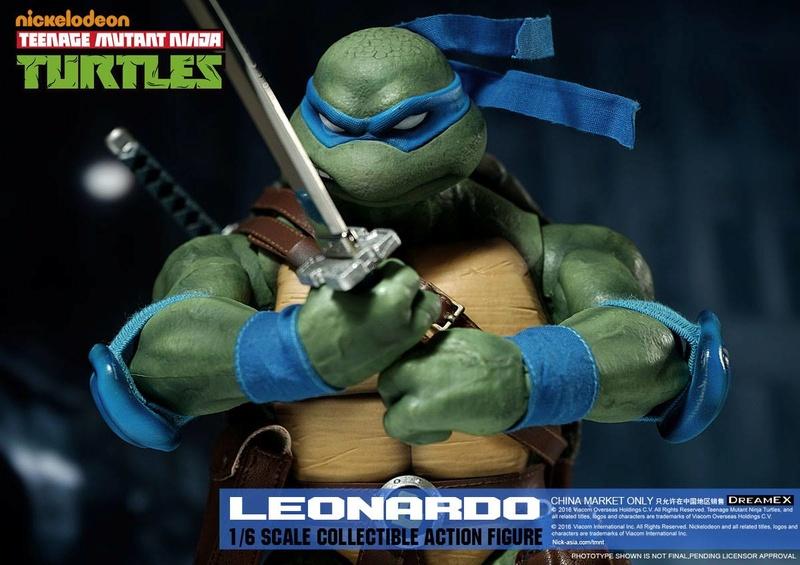 Teenage Mutant Ninja Turtles 1/6 - Tortues Ninja (DreamEX) X6213