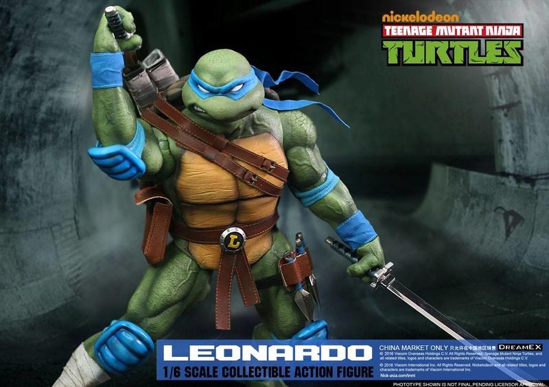 Teenage Mutant Ninja Turtles 1/6 - Tortues Ninja (DreamEX) X6313