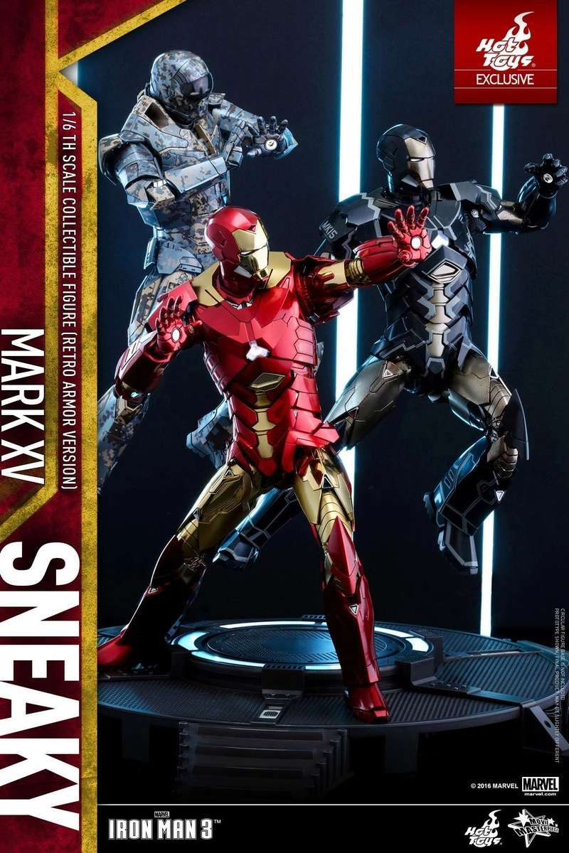 Iron Man 3 (Hot Toys) X6325