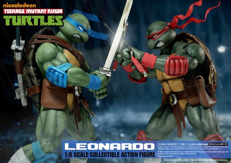 Teenage Mutant Ninja Turtles 1/6 - Tortues Ninja (DreamEX) X6413