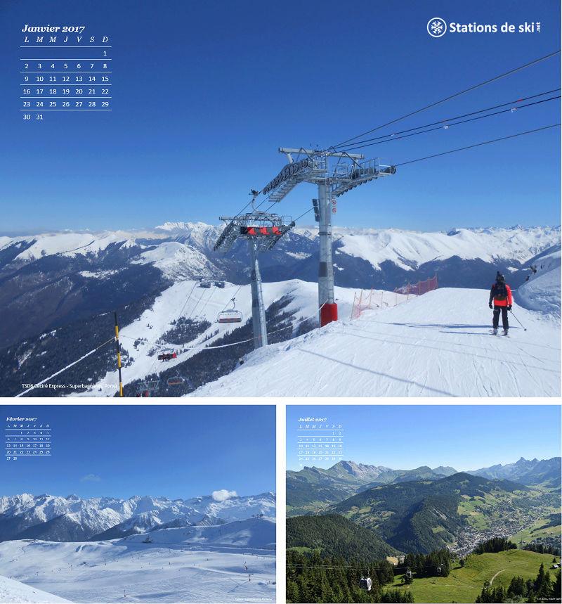 Calendrier 2017 Stations de ski Calend10
