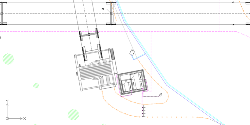 Dessins techniques, Plans 2D remontées mécaniques Plan210