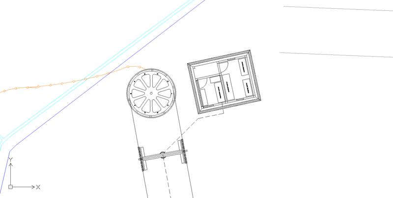 Dessins techniques, Plans 2D remontées mécaniques Plan310