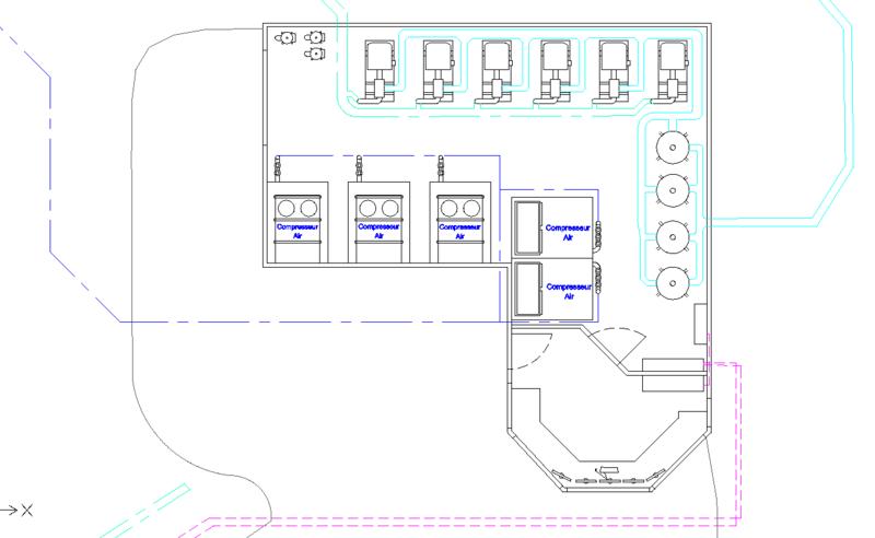 Dessins techniques, Plans 2D remontées mécaniques Plan510