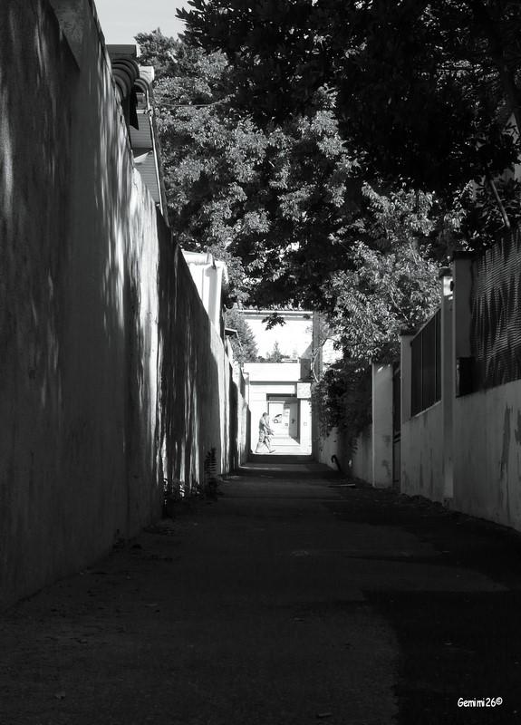 Côte Bleue en noir & blanc P1430511