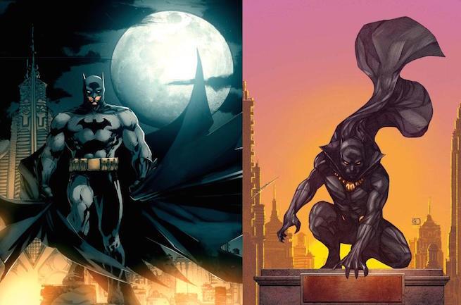Batman vs Black Panther 27066810
