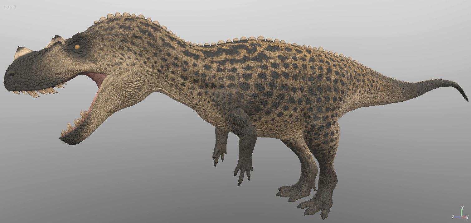 Ceratosaurus Model Cerato10