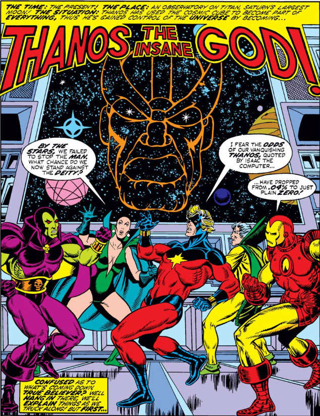Why Cosmic Cubes are above The Infinity Gauntlet Cm32_110