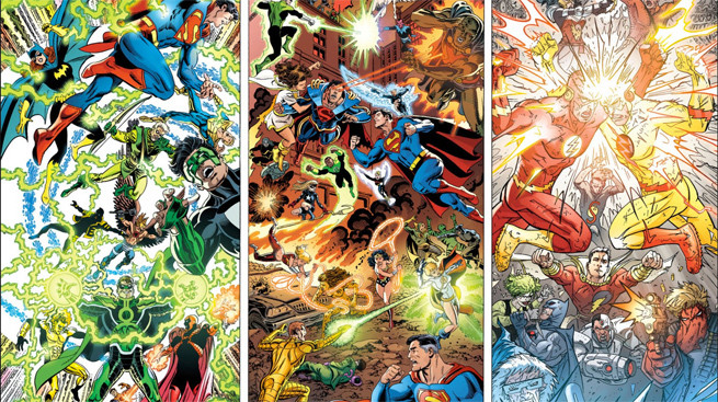 DC Comics Makes Their Entire History Officially Canon Dc-com10