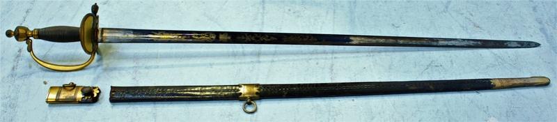 Epée d'officier infanterie anglaise epoque Napoléonienne ????? Sabre_12