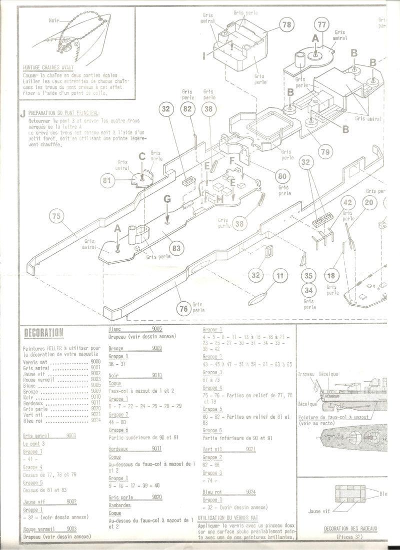 Aviso rapide  type E50 Le BRESTOIS 1/400ème Réf 547  Helle136