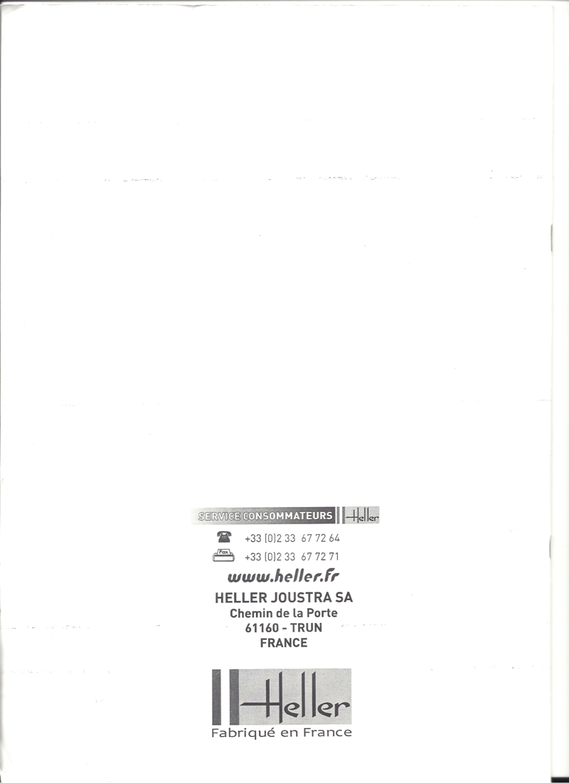 Cuirassé JEAN BART 1/400ème Réf 81077 Notice Heller30