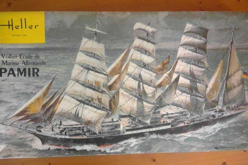 Cap-hornier PAMIR Réf L1200 1/150ème Heller82